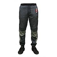 Мужские молодежные теплые брюки под манжет тм. Tommy Life пр-во. Турция оптом со склада 84321