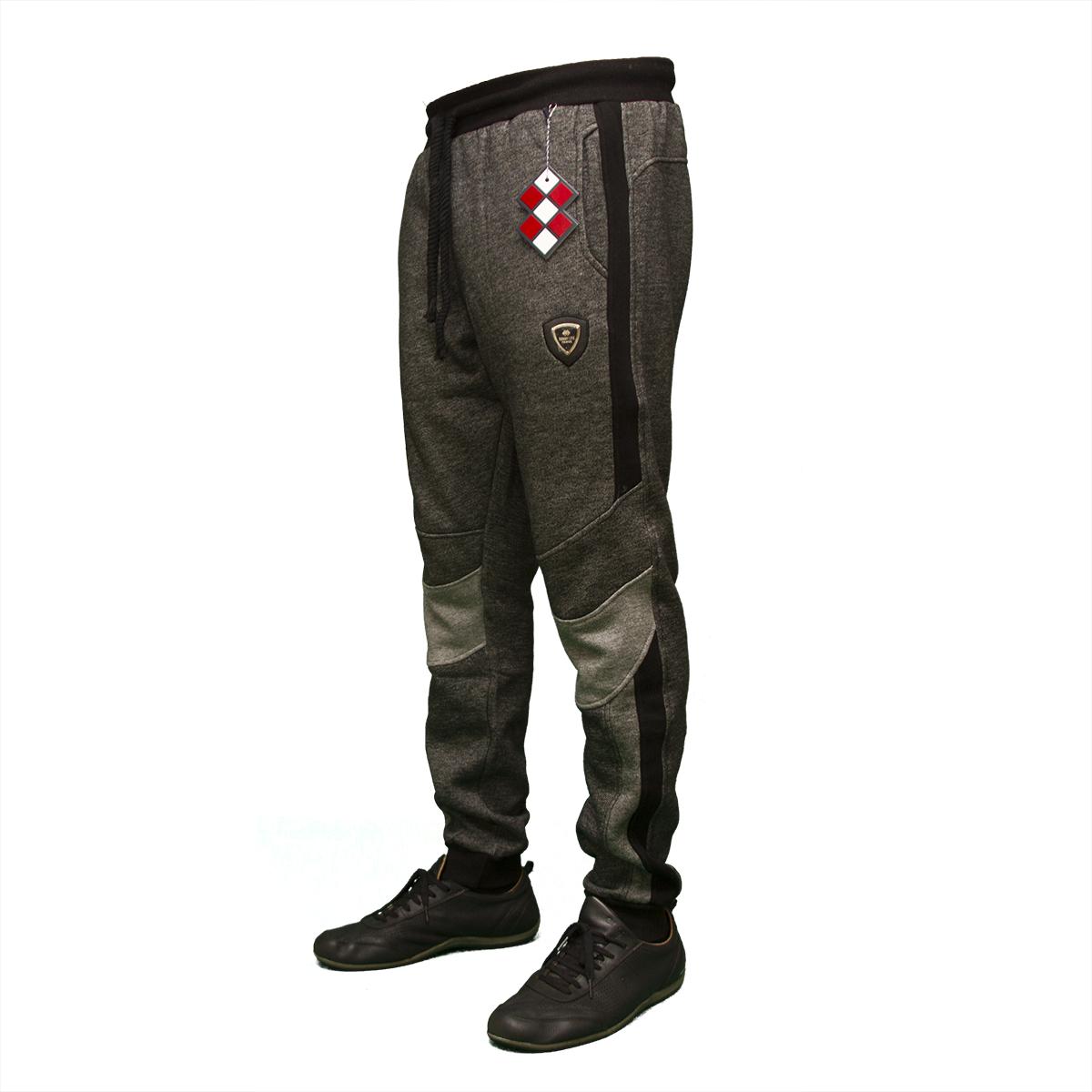 Мужские молодежные теплые брюки под манжет тм. Tommy Life пр-во. Турция новые модели 84321
