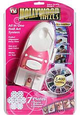 Набор машинка принтер штамп для дизайна ногтей стемпинга Hollywood Nails /  Голливудские ногти, фото 3