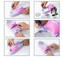Набор машинка принтер штамп для дизайна ногтей стемпинга Hollywood Nails /  Голливудские ногти, фото 2
