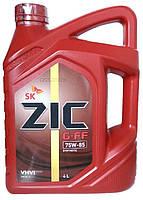 Масло трансмиссионное синтетическое ZIC G-FF 75w85 4л.