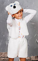 """Новогодний детский костюм """"Белого Мишки"""""""