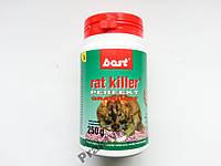 Средство от мышей и крыс RAT KILLER 250 г.