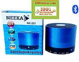 Bluetooth портативная колонка Neeka NK-201, фото 2