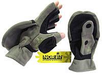 Перчатки-варежки Norfin Cesium ветрозащитные отстёгивающиеся (701103)