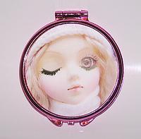 Зеркальце для девочки со стереокартинкой