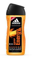 Гель для душу чоловiчий Adidas Deep Energy 250мл.