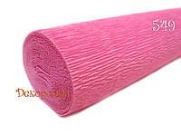 Гофрированная бумага, Италия (549 светло розовый)
