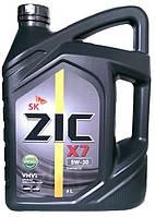 Моторное масло синтетика ZIC X7 Diesel 5w30 6л.