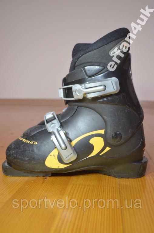 Дитячі черевики до лиж SALOMON/21.5 cм/33 р/ЗНИЖКА