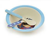 Набор детской посуды FISSMAN из бамбукового волокна PT-8819.3