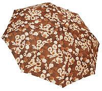 Женский зонт полуавтомат 35002 chocolate