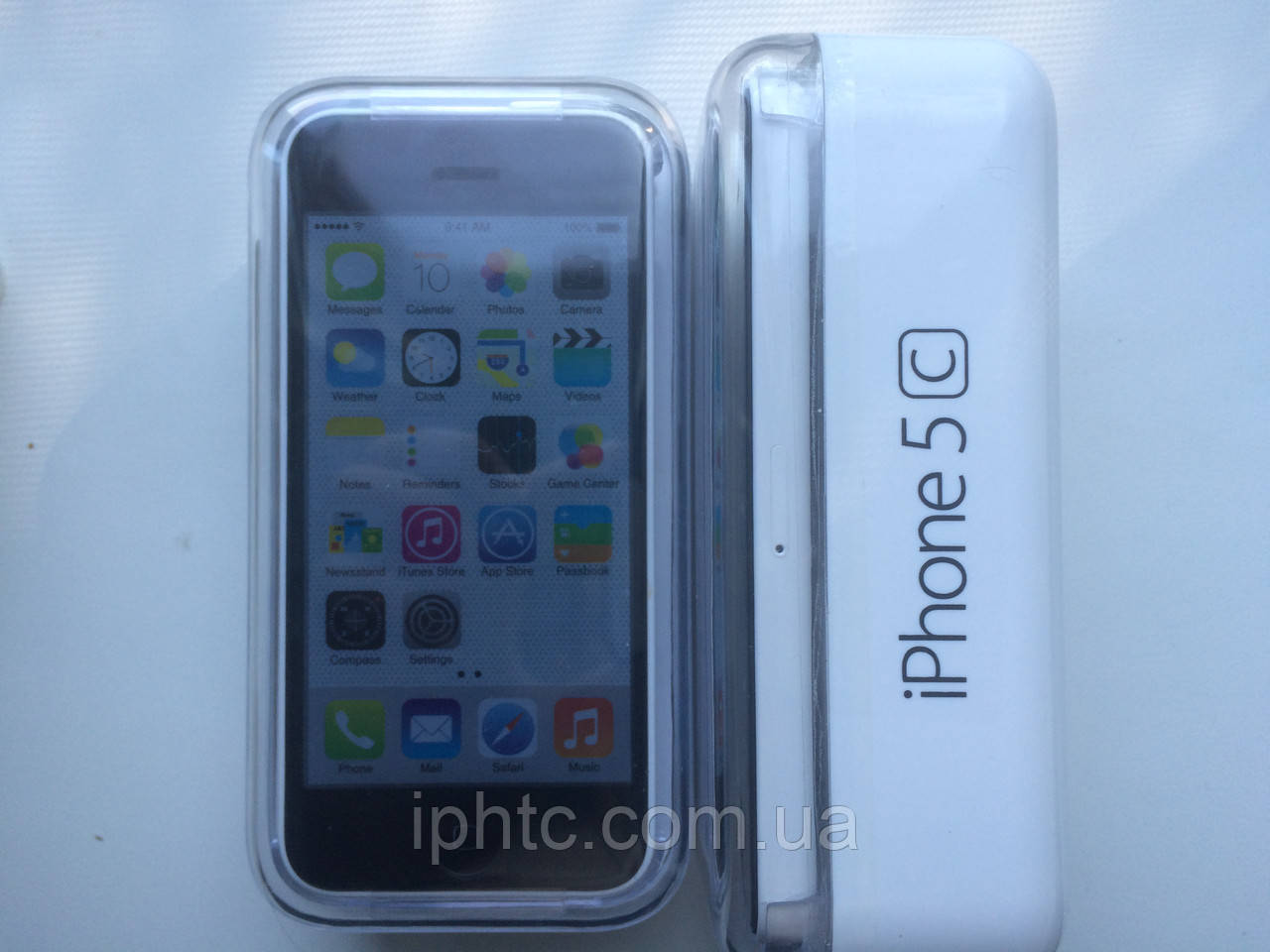 iPhone 5C 8GB WHITE 4G. Новый. NeverLock, фото 1