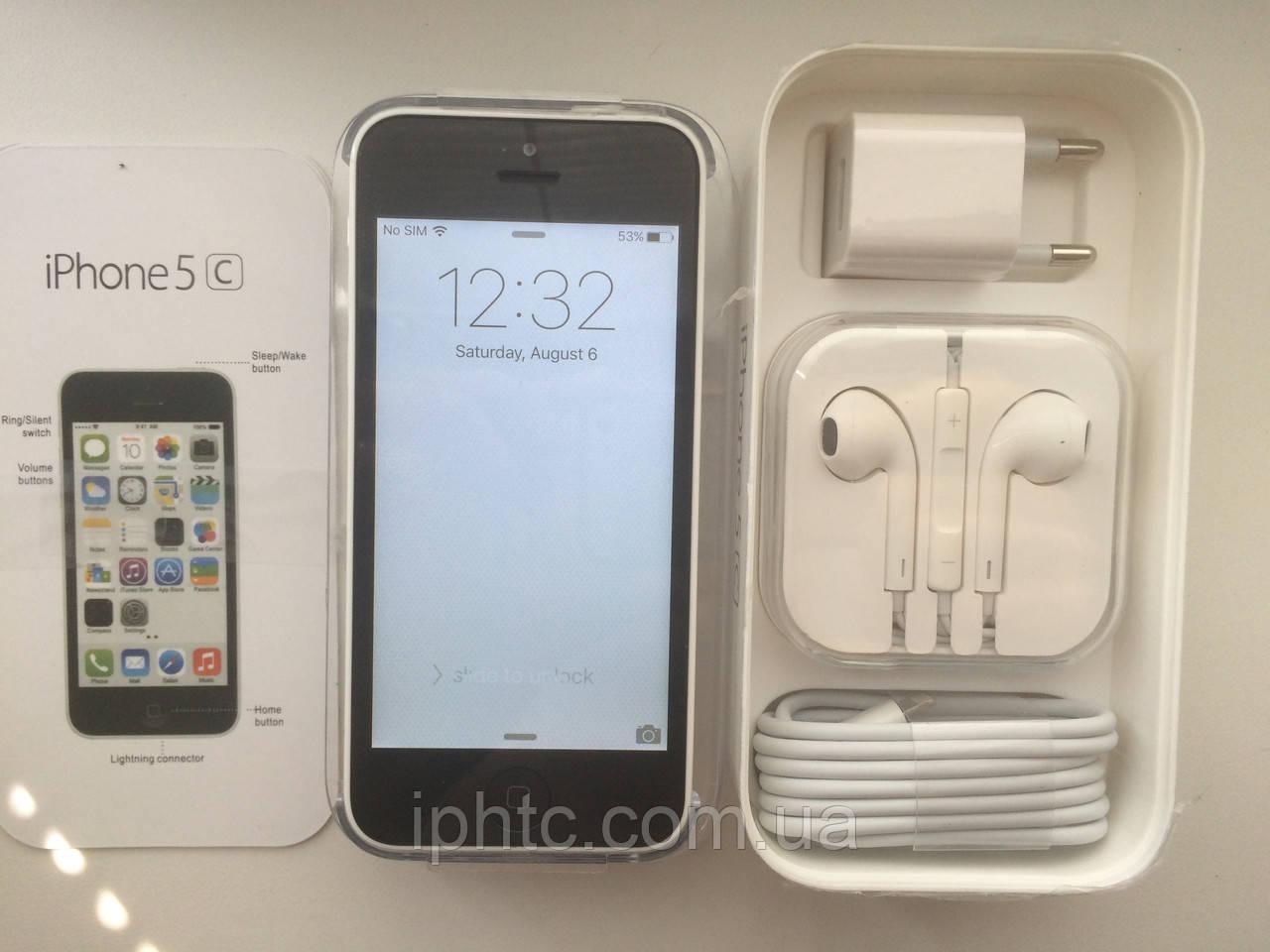 Apple iPhone 5C 16GB WHITE. Новый. NeverLock
