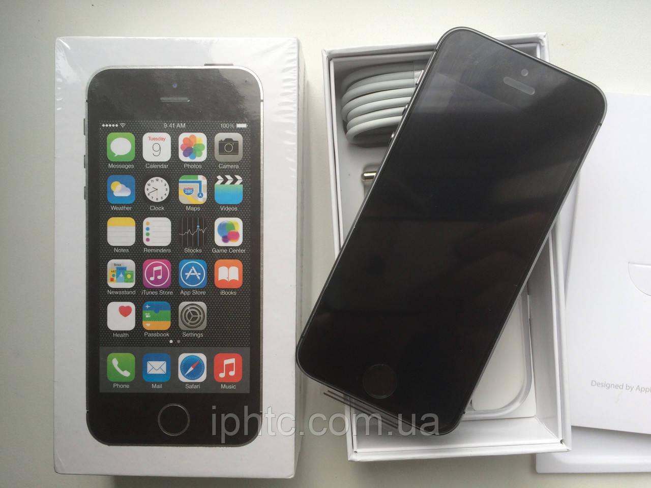 Apple iPhone 5S 32GB Space Grey. 4G /Новый. Запечатан, фото 1