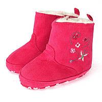 Пинетки-сапожки утепленные для девочки Berni 5947