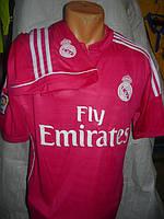 Футбольная форма Real Madrid взрослая СЕЗОН 2015 розовая