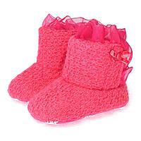 Пинетки-сапожки утепленные для девочки Berni 5948