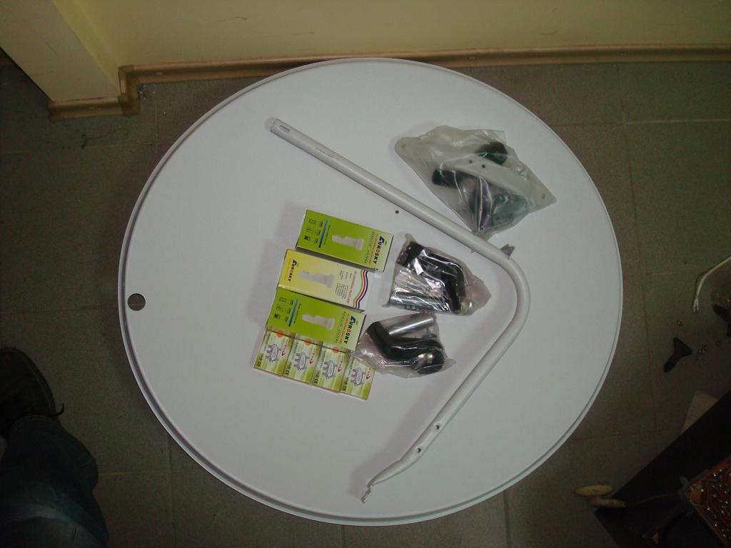 Комплект антенна на 3 спут.  для четырёх телевизров Q -SAT  - AV-SAT в Кривом Роге