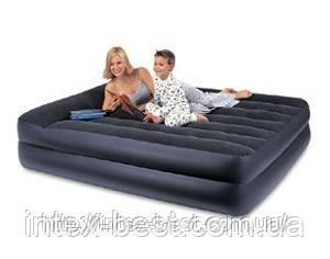 Надувные кровати Intex 66702 ( 203 х 152 х 47 см.) с встроенным насосом