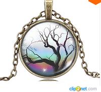 Античная бронзовая цепь надежда древо жизни