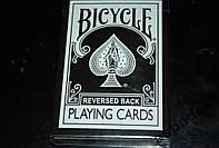 Карты игральные Bicycle Black Reversed+Gaff