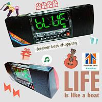 Портативная колонка и часы WS-1515BT bluetooth
