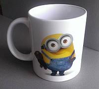 Чашка с игрой Minion Rush игра Миньон #6