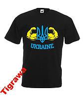 Патріотична футболка Україна Ukraine флаг герб