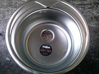 Мойка кухонная Haiba 49см покрытие сатин.