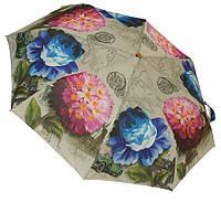 Женский зонт полуавтомат 3677 flowers