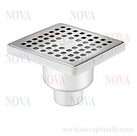 Трап прямой нержавеющая сталь 15х15 5036 Nova (Турция)