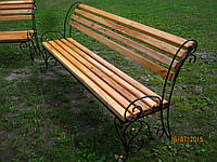 Кованая скамейка лавка  лавочка ручная работа
