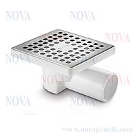 Трап угловой нержавеющая сталь 15х15 5026 Nova (Турция)