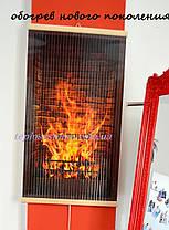 Инфракрасный настенный пленочный обогреватель (картина) КАМИН 3D, Трио Украина, фото 2