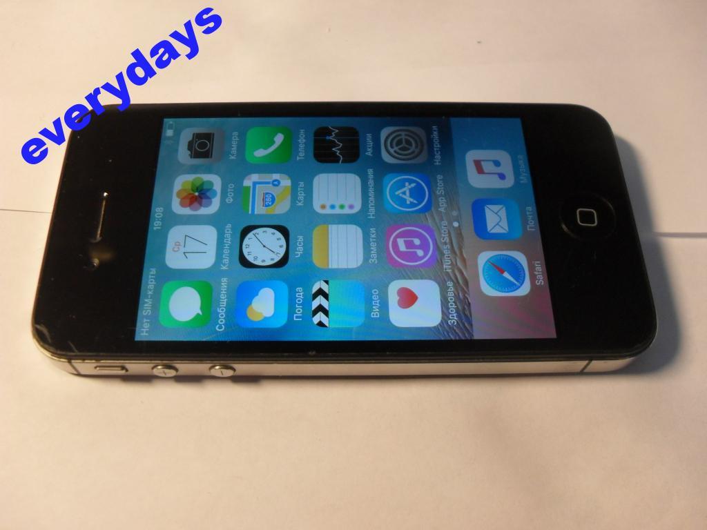 Мобильный телефон Apple iPhone 4S 16Gb шабл
