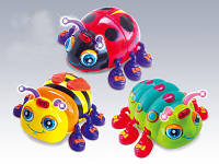 Игрушка для детей «Жучки» Жук 82721 ABCD микс видов. Музыкальные, световые эффекты.