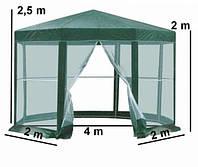 Павильйон, беседка, с москитной 2x2x2 шатер