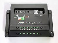 Контроллер заряда-разряда 30А 12/24V (авторежим, настройки освещения) для солнечных панелей, фото 1