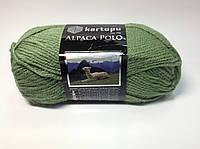 Пряжа alpaca polo - цвет светло-зеленый