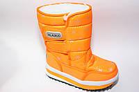 Зимние дутики для девочек от бренда Alaska разм (с 31-по 36)