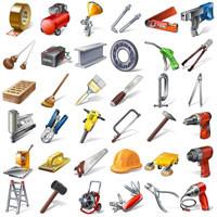 Строительные инструменты и материалы