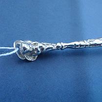 Серебряная подарочная ложка Ангелочек, 8 грамм, фото 3