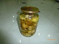Белые карпатские маринованые грибы 1 л