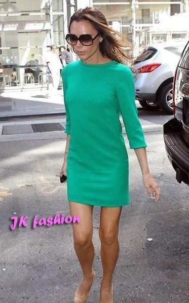 Платье мини ментол рукав 3/4 от производителя  42 44 46 48 50 Р