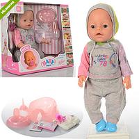 Кукла-пупс Baby Born (борн), Оригинал, девять функций. BL-884.