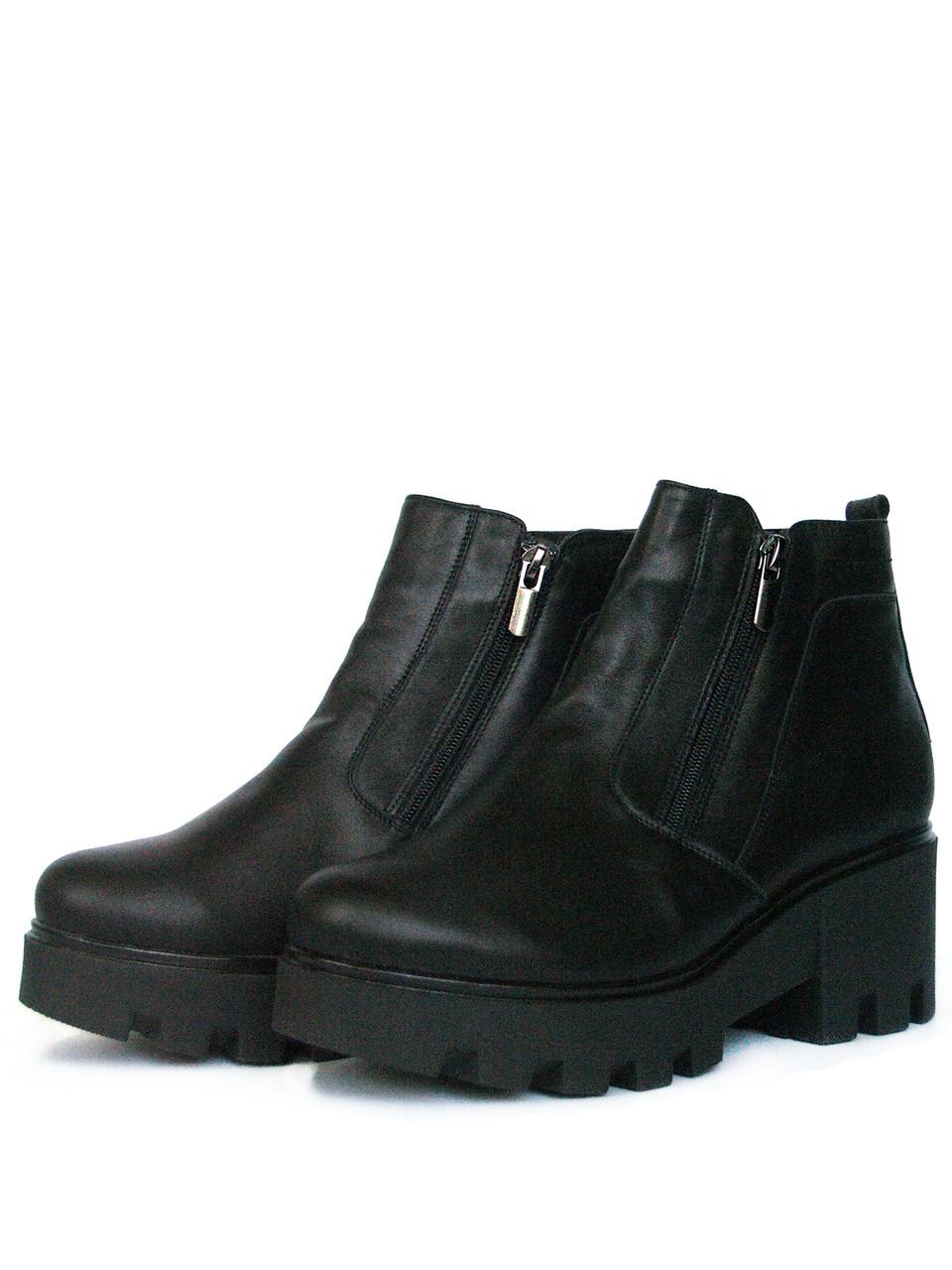 Ботинки женские зимние на тракторной подошве