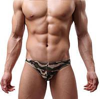 Сексуальное мужское нижнее белье трусы плавки ARMY