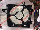 Диффузор радиатора Заз 1102 1103 таврия славута новый образец голый, фото 3