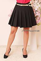 Модная женская юбка в складки